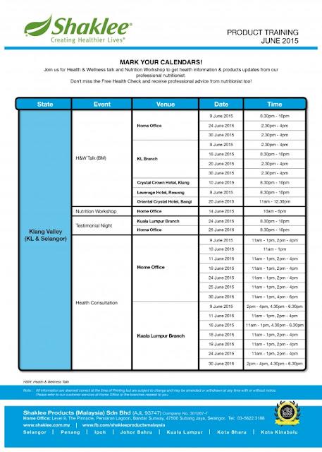 HW Talk & Free Consultation June'15 Calendar