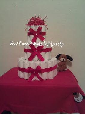 Diaper Cake I Made