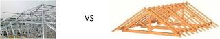 Keuntungan Menggunakan Baja Ringan | dengan Kayu | Jual baja ringan Murah