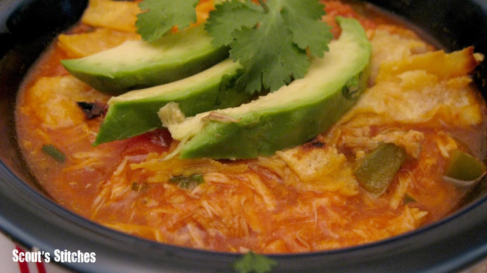 All The Joy: Tortilla Soup- New Food Friday