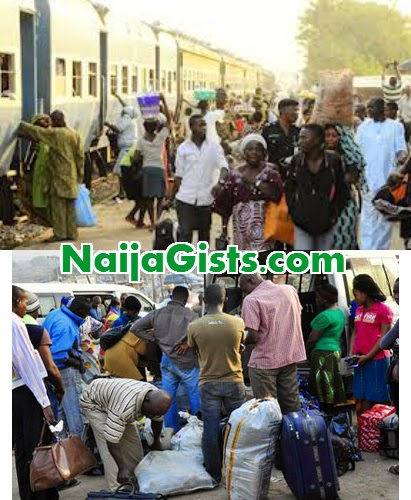 igbos yorubas flee north