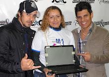 Ganhadora Notebook Promoção Camarim JC & C Show Carmo de Minas 21/06/12