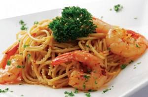 gambar spageti udang itali cara membuat resep