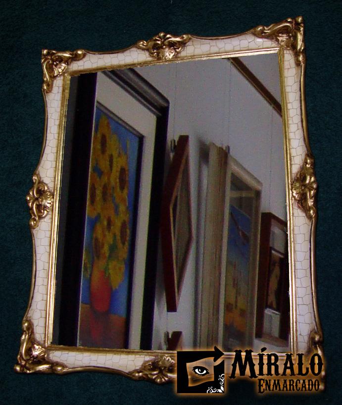 Restauracion de marcos antiguos conversiones a espejos - Espejos antiguos de pared ...