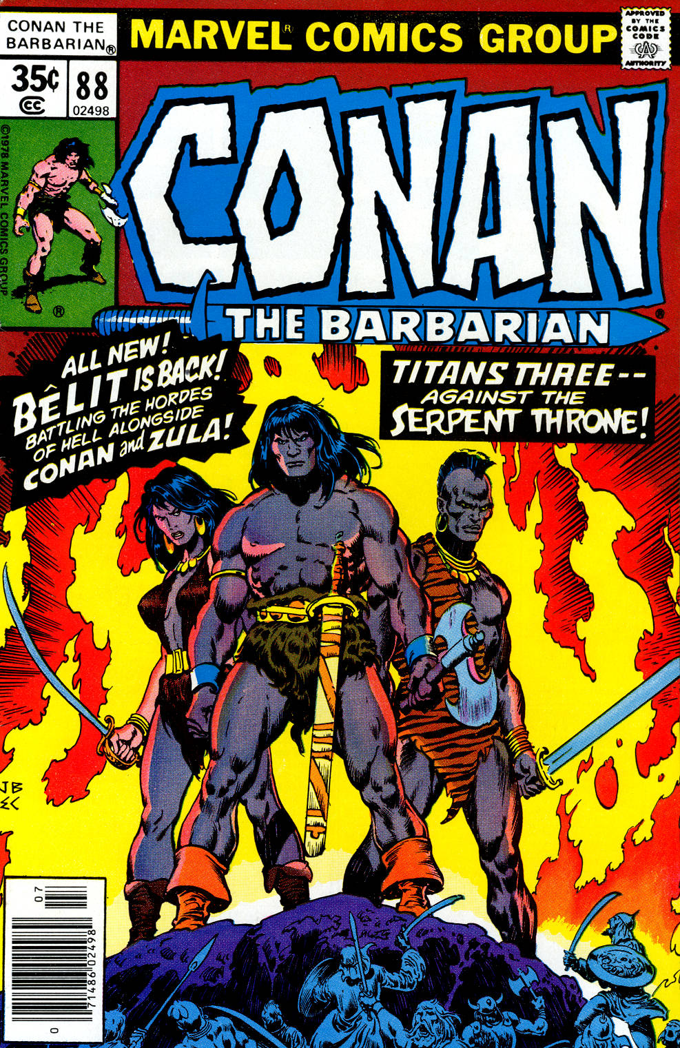 Conan the Barbarian (1970) Issue #88 #100 - English 1