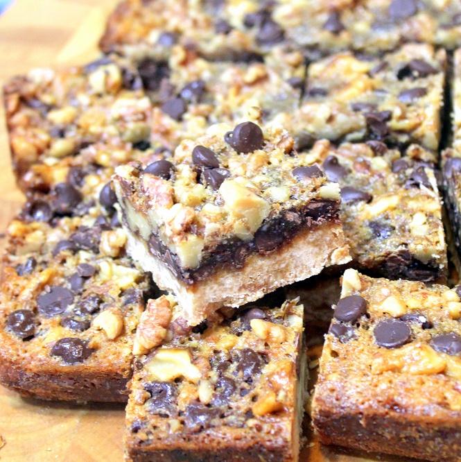52 Ways to Cook: Chocolate Walnut Pie BARS - 52 Cookie ...