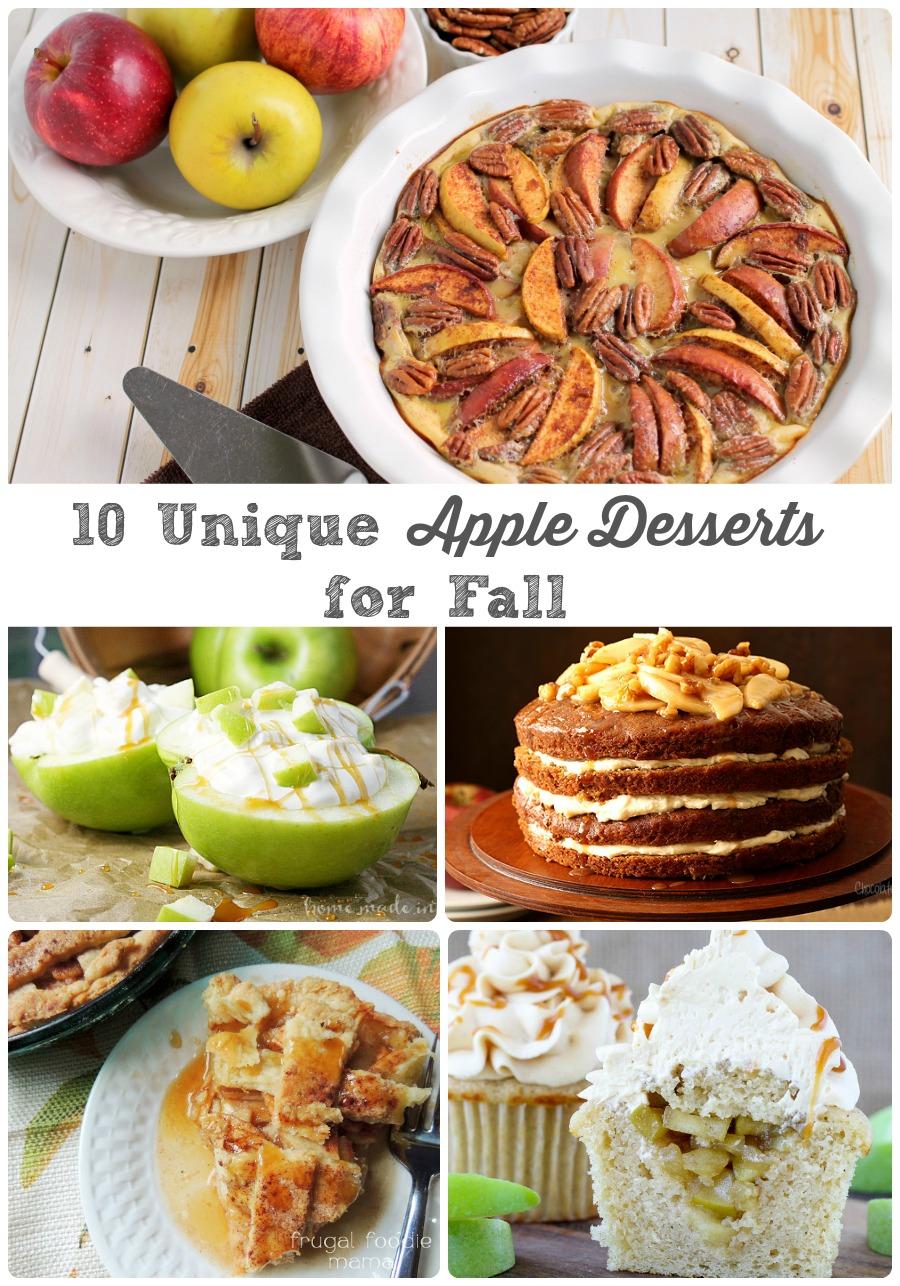 10 Unique Apple Desserts for Fall