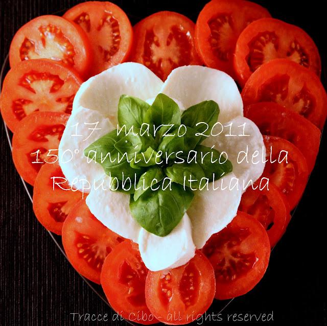 insalata caprese, pomodoro e mozzarella, basilico