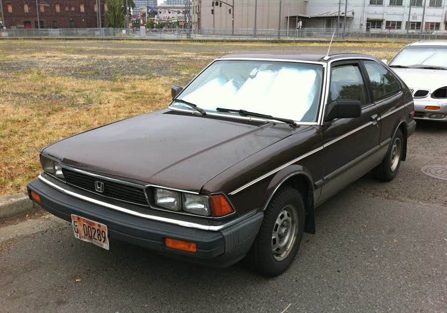 Old Parked Cars 1982 Honda Accord Lx