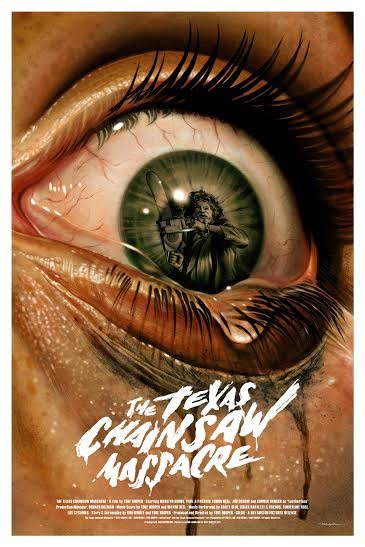 The Texas Chainsaw Massacre Variant Screen Print by Jason Edmiston