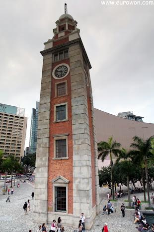 Panorámica de la Torre del Reloj de Hong Kong