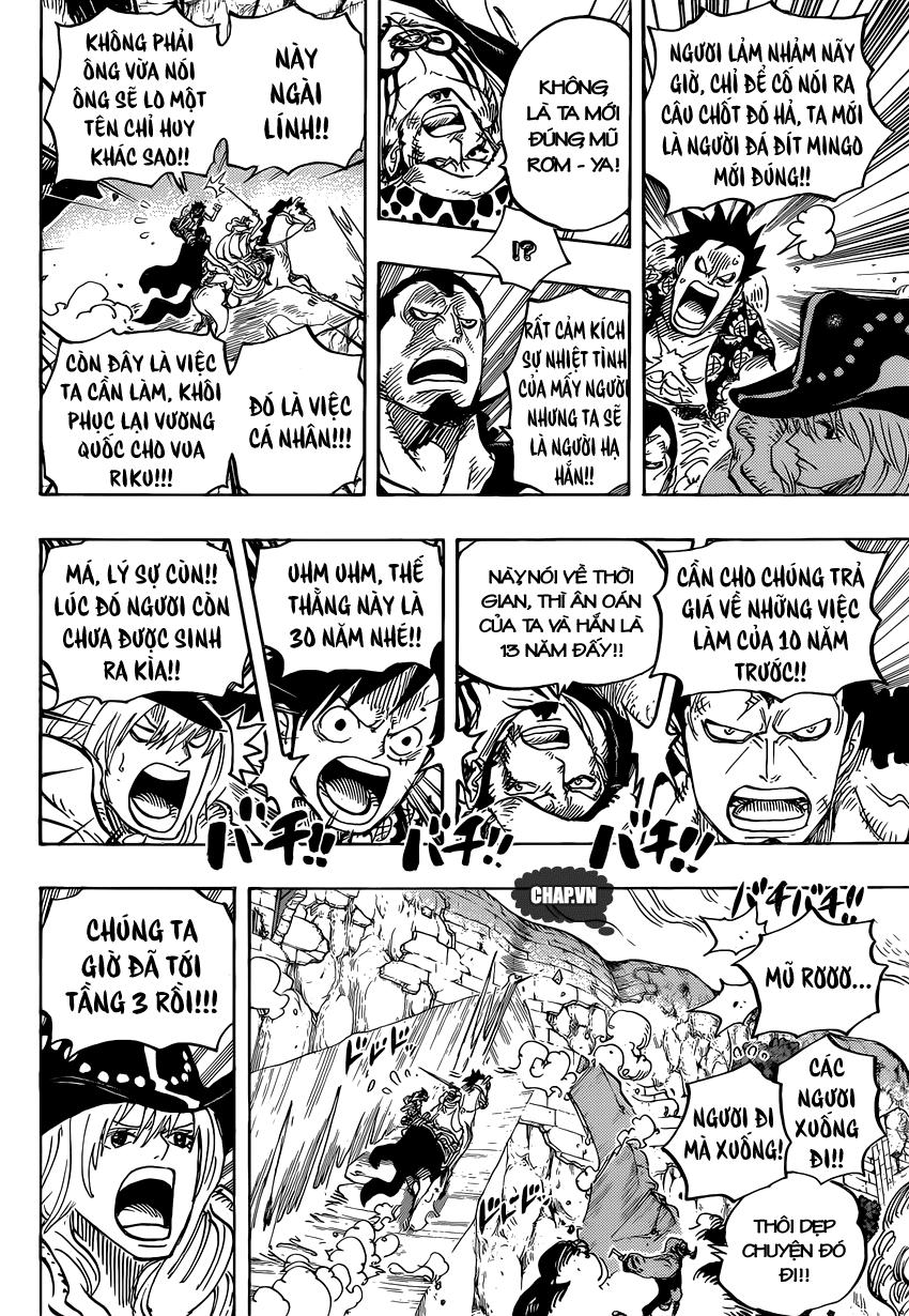 One Piece Chapter 754: Rất vui khi gặp lại cậu 010