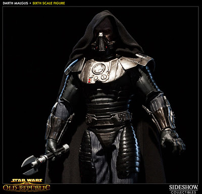 "Sideshow Collectibles 1/6 Scale 12"" Star Wars Knights of the Old Republic Darth Malgus Figure"