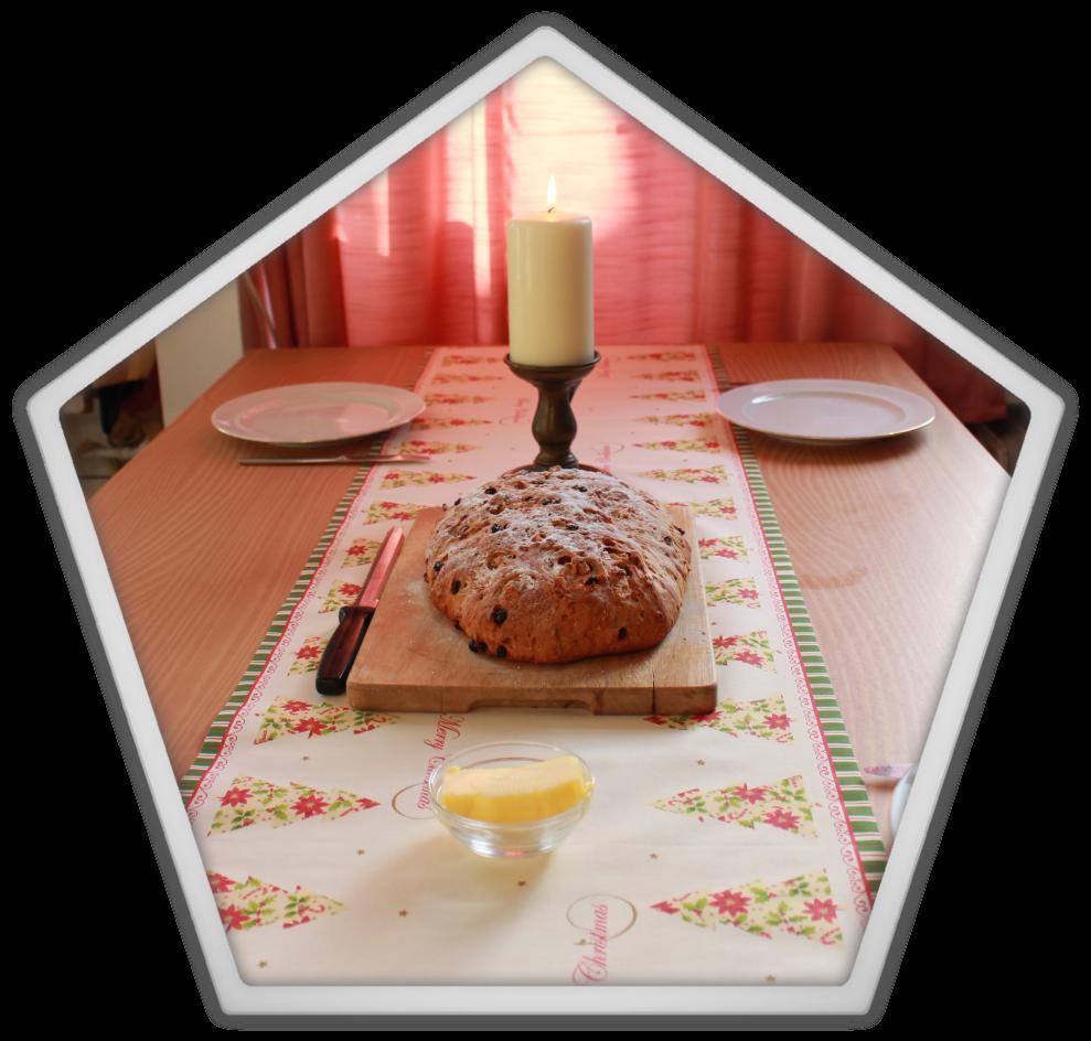 Marjolein kucmer christmas xmas bread homemade cake diy baked snow breakfast healthy good morning