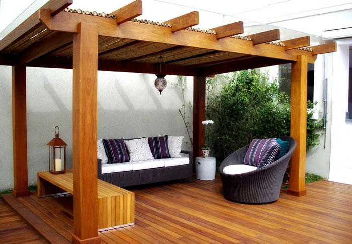 S arquitetura e planejamento pergolados diversos modelos - Pergolas para jardin baratas ...