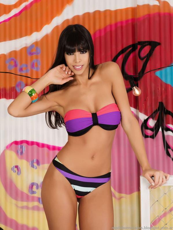 Tout bikinis moda 2014.