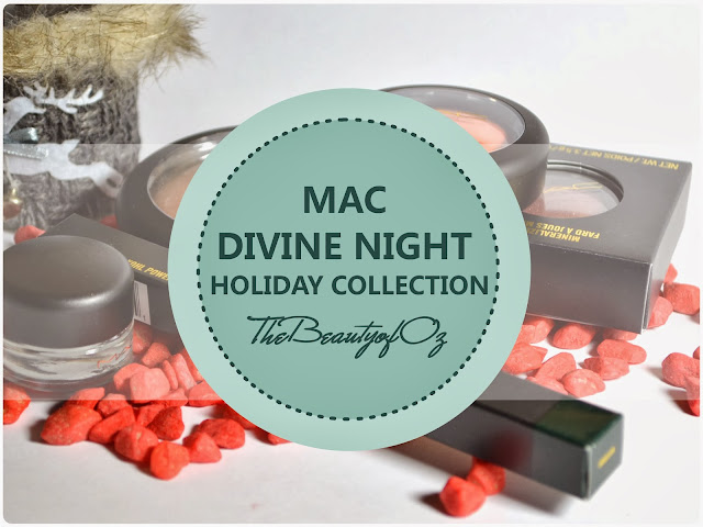Review MAC Divine Night Holiday Collection 2013