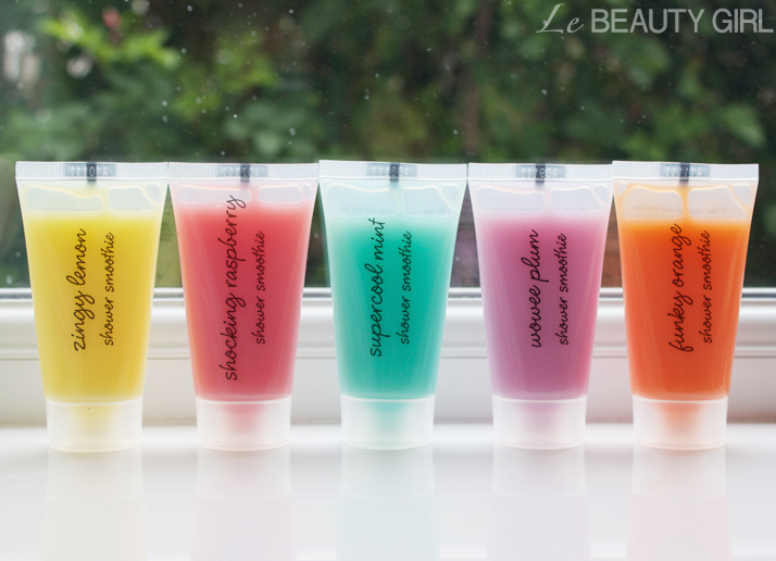 Fruity Beauty Shower Smoothies