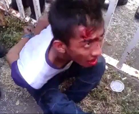 Video Peragut Kejam Minta Ehsan Bawa Balai Polis