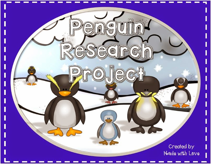 http://www.teacherspayteachers.com/Product/Penguin-Research-Report-Project-1617002