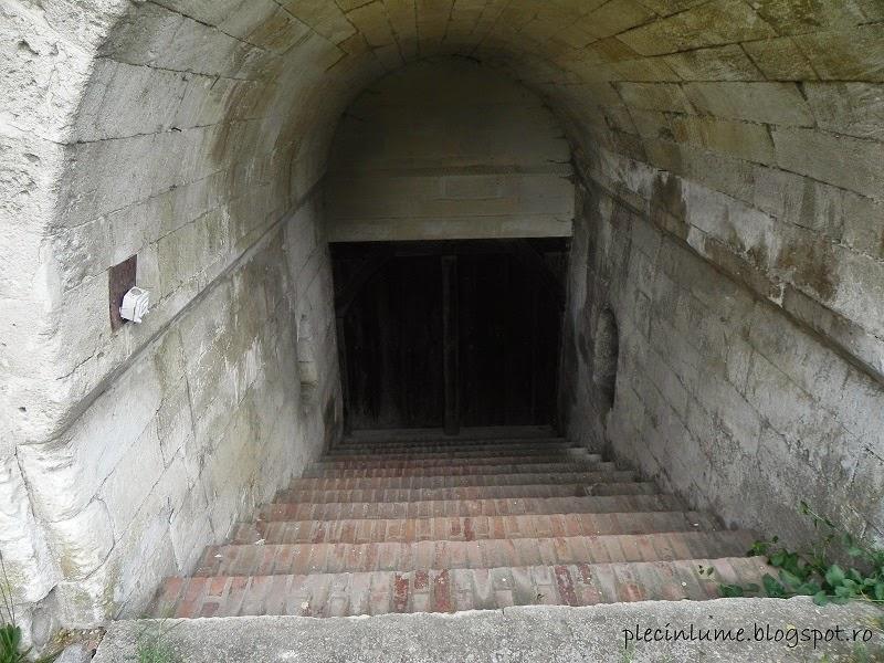 Spre pivnita palatului din Herasti