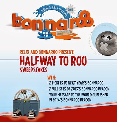 Free Bonnaroo tickets