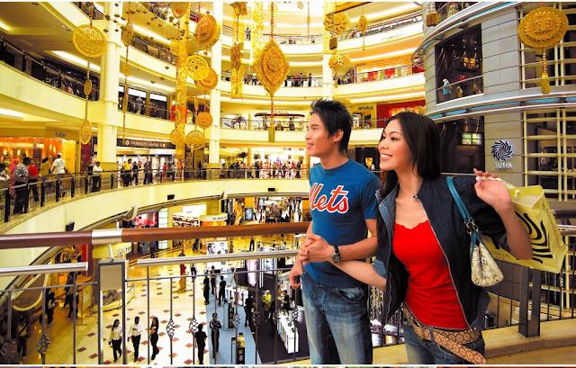 du lịch ở Malaysia và mua sắm thả ga