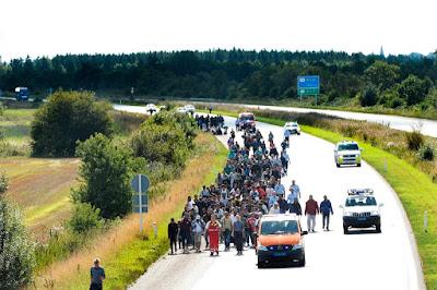 migráció, illegális bevándorlás, Európai Unió, menekültválság, Dánia, illegális határátlépés,