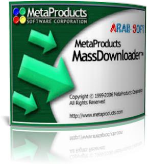 Mass Downloader,تسريع تحميل الملفات من الانترنت