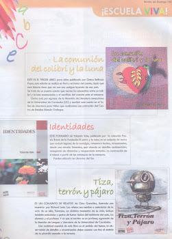 Reseña realizada por la escritora Laura Antillano en la Revista