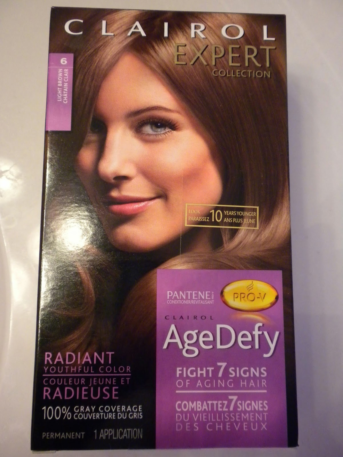 Clairol Expert Collection Age Defy - Product Review by Substance of Living