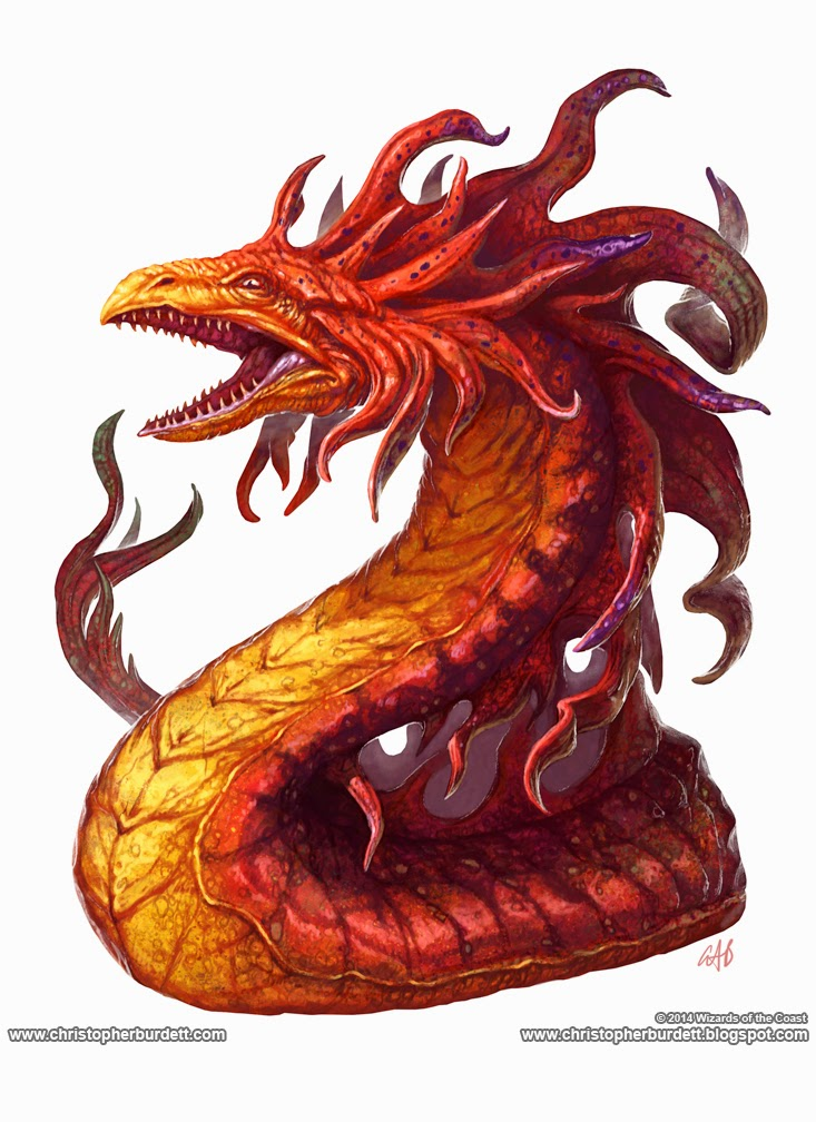 Fire Snake The Doodles Designs And Art Of Christopher Burdett