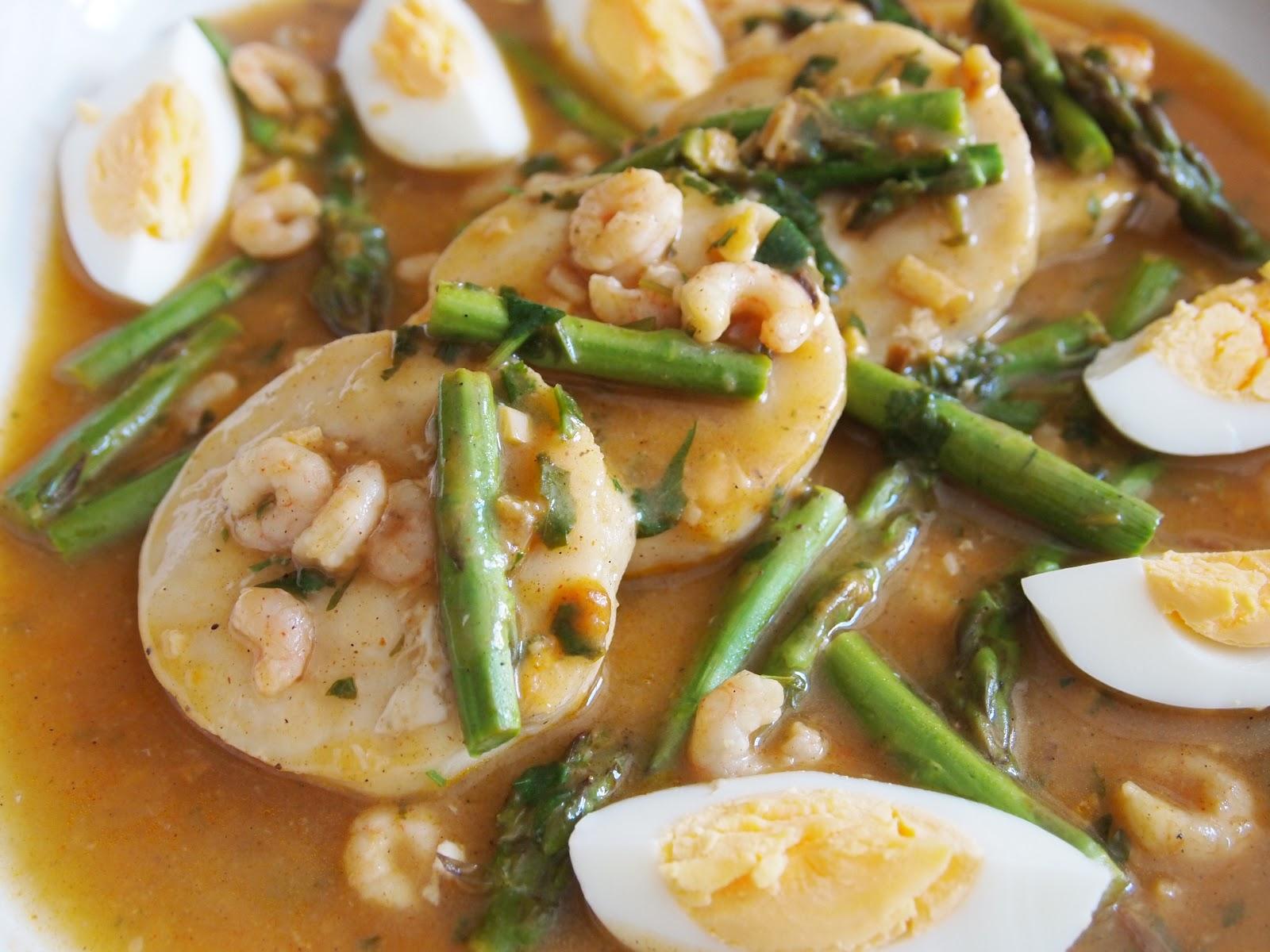 La cocina de gema y eva medallones de merluza a la vasca for Cocinar merluza a la vasca