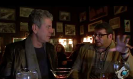 ANTHONY BOURDAIN at KEEN'S