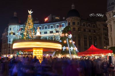 Lumini si culoare in Piata de Craciun Bucuresti