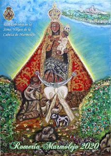 Cartel Romería Virgen de la Cabeza 2020 Marmolejo