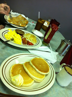 Hungry Bear Breakfast @ Smoky Mountain Pancake House