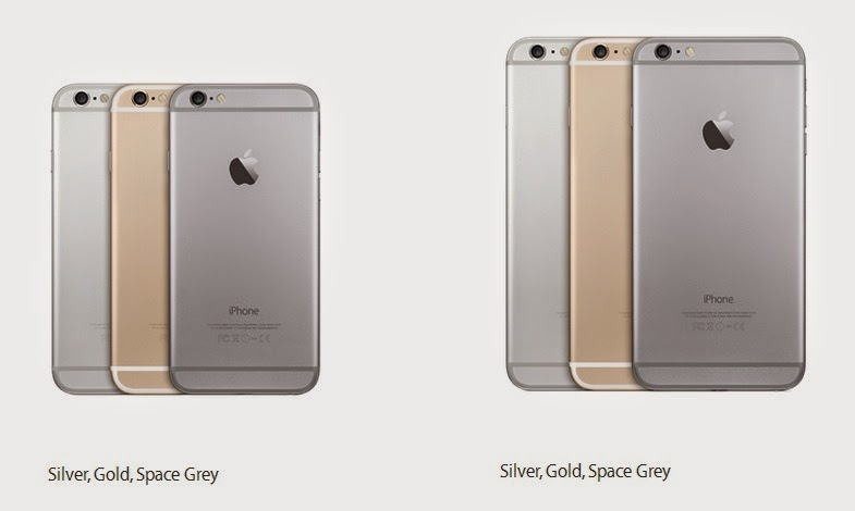 Apple iPhone 6 - Colors