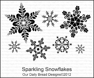 "Our Daily Bread designs ""Sparkling Snowflakes"""