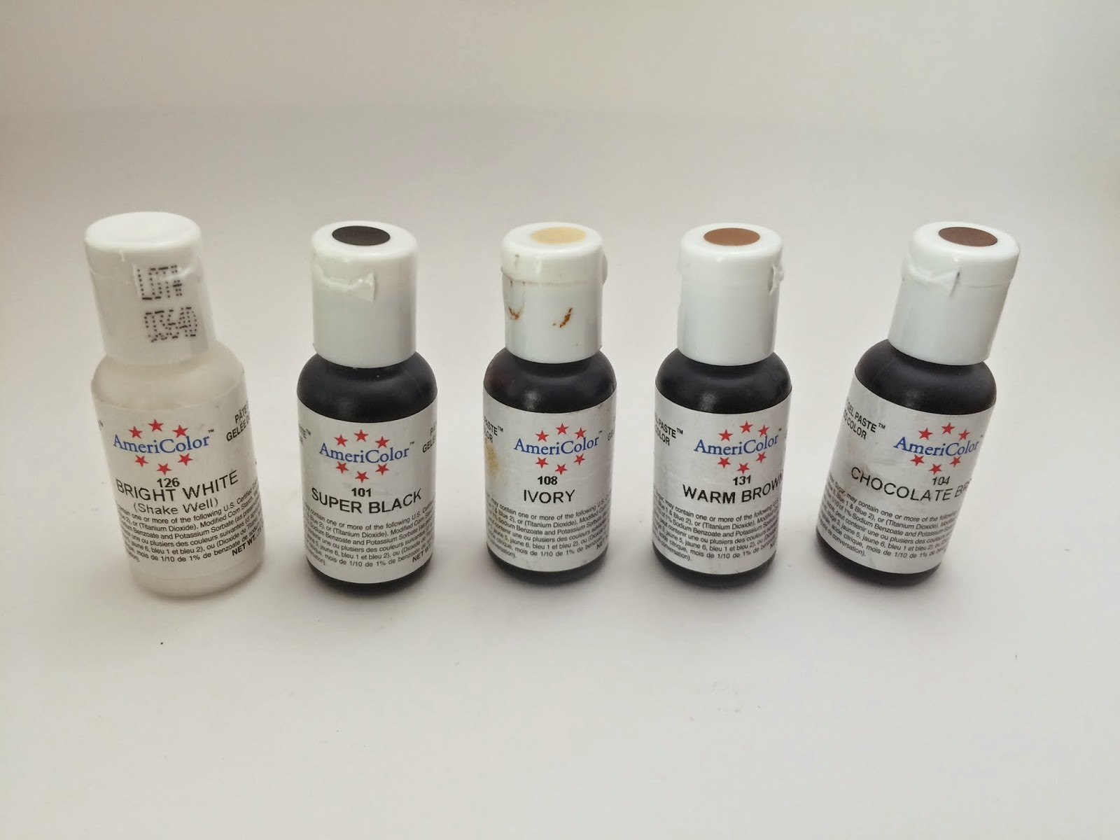 Catholic Confections: Review: Americolor Food Coloring