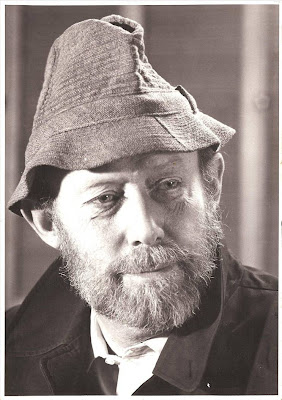 John Leyerle in Irish tweed hat