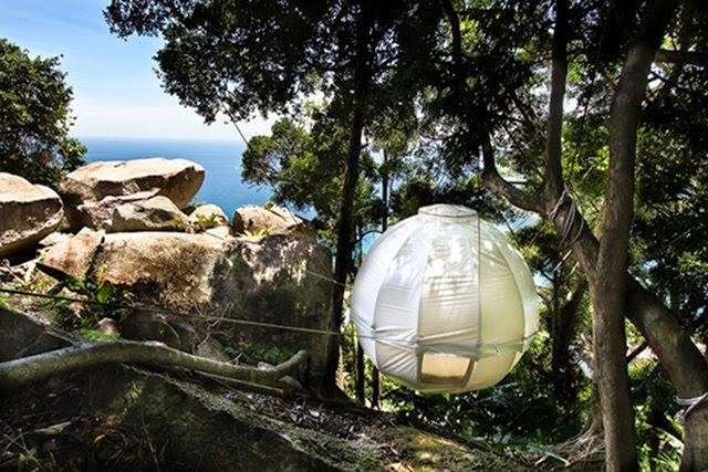 Tenda Gantung Super Nyaman Buat Berkemah di Alam Liar Sekalipun