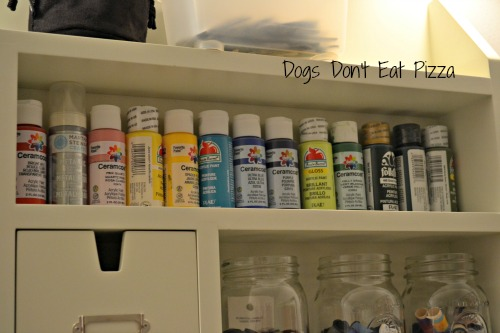 small paints storage