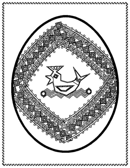 ukraine eggs coloring pages - photo#19