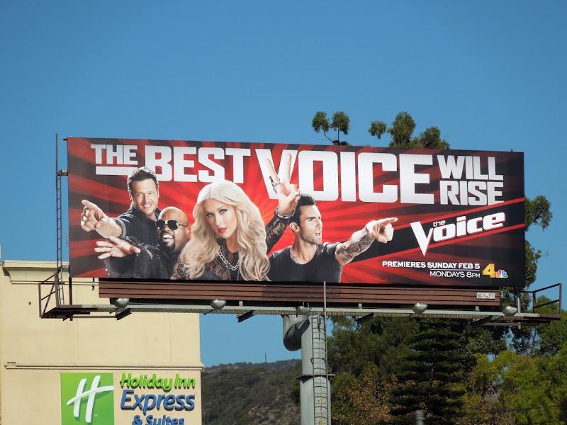 The Voice season 2 billboard
