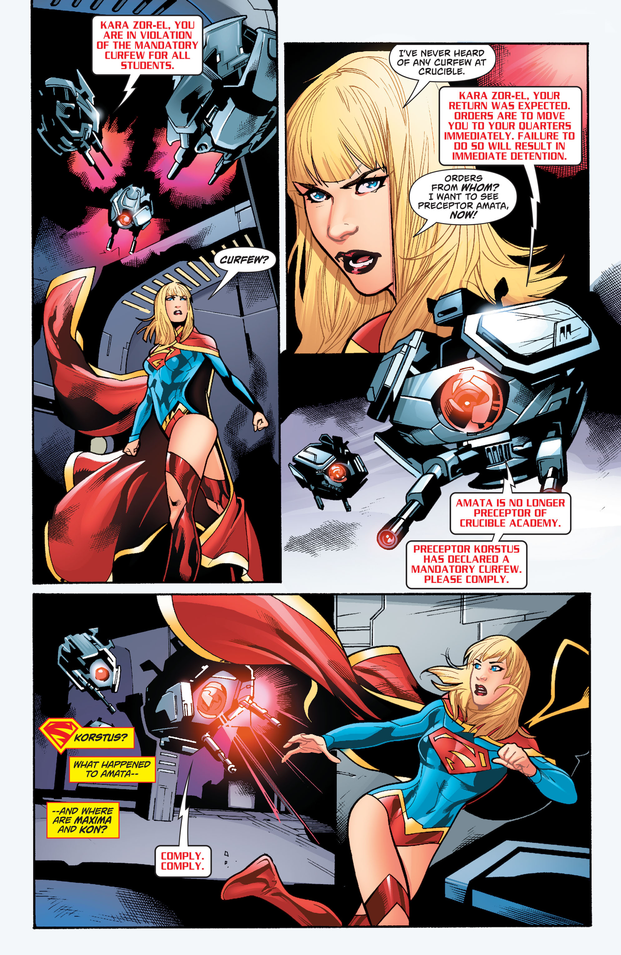 Supergirl (2011) Issue #39 #41 - English 13