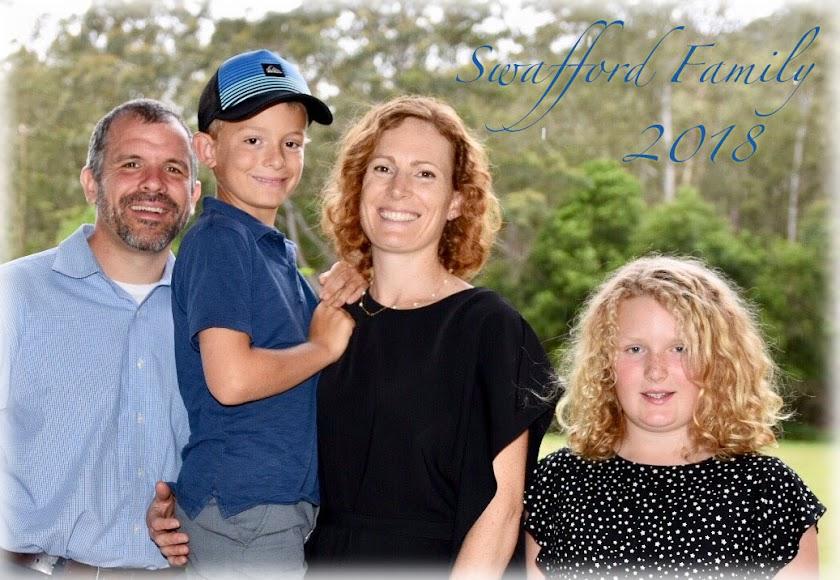 Swafford Family: Chris Jodie Sadie Jacks