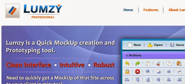 Lumzy – Mockup Creation and Prototyping Tool