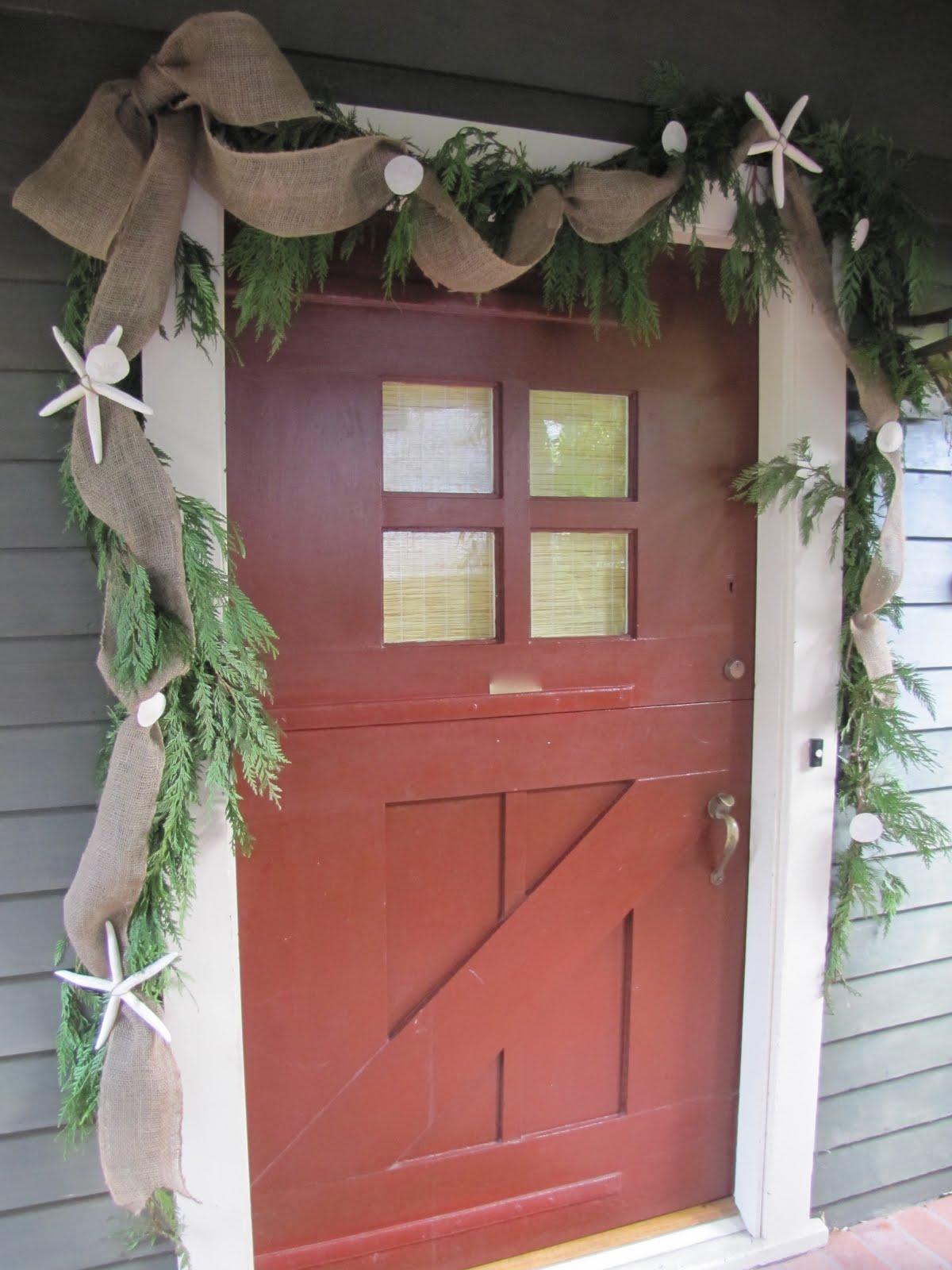 Homemade Beauties By Heidi Coastal Christmas Front Door