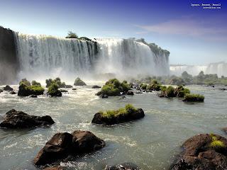 Waterfall Desktop Wallpaper Beautiful Nature 3d Love Animated